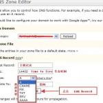 DNS区域编辑器